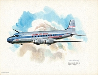 United Airlines Collector Series prints