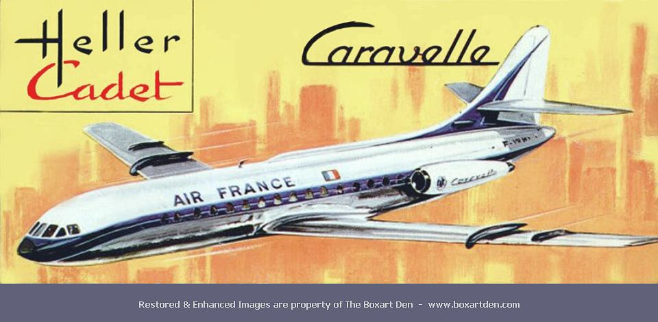 heller caravelle air france cadet