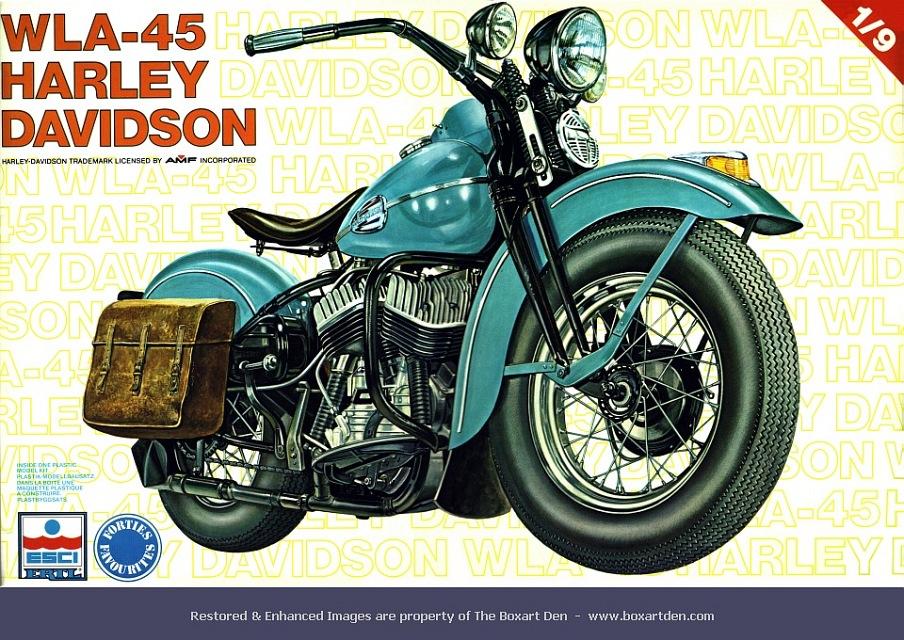 ESCI ERTL WLA-45 Harley Davidson