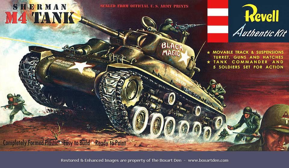 Revell M4 Sherman Tank