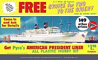 Pyro American President Liner Poster