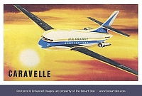 Dubena Caravelle Air France