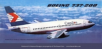 M&B Maquettes 737 Canadian