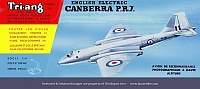 Tri-Ang English Electric Canberra PR7