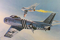 NAA F-86 keith-ferris-86a-mig-15-960
