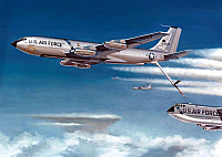 Boeing KC-135A & B-52D refueling by Mike Machat-960