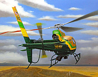 Eurocopter AS 350 LA Sheriff by Mike Machat-960