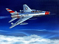 NAA F-100F Super Sabre by Mike Machat-960