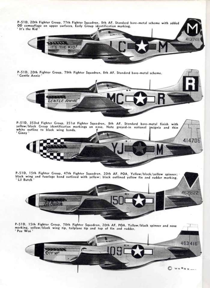 01 North American P-51D Mustang Page 02-960
